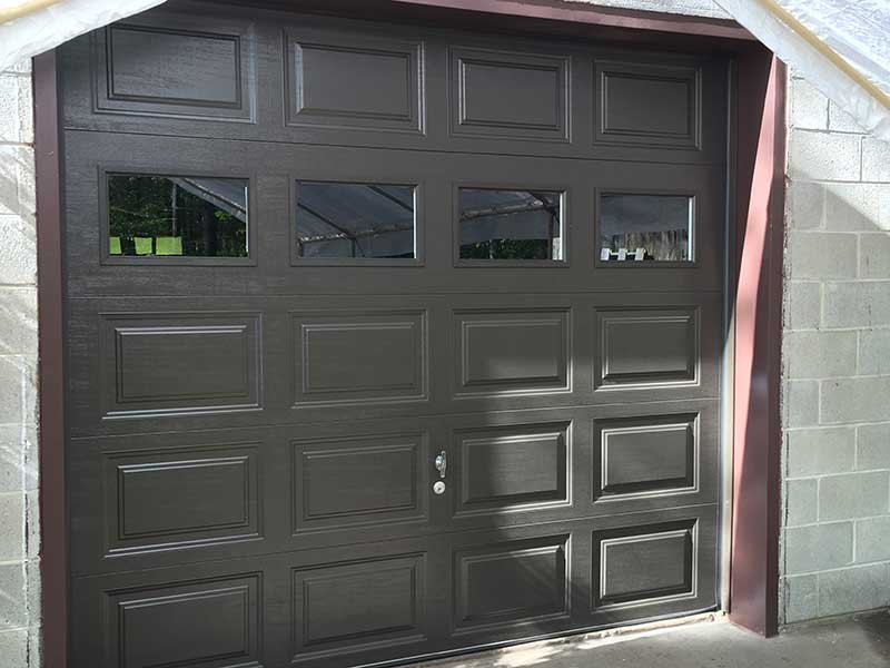 Clopay 9130 Mocha Brown Garage Door