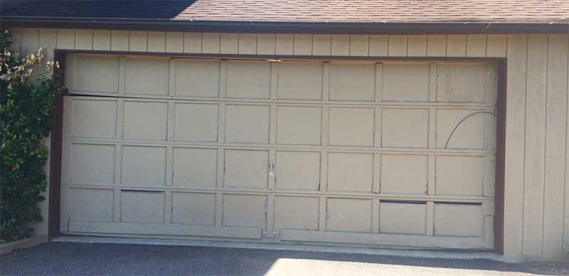 Queenstown Garage Door Before
