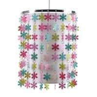Girls Bedroom Nursery Flowers Ceiling Lights Shade Pendant ...