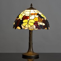 Modern Tiffany Style Stained Glass Table Lamp Bedside ...