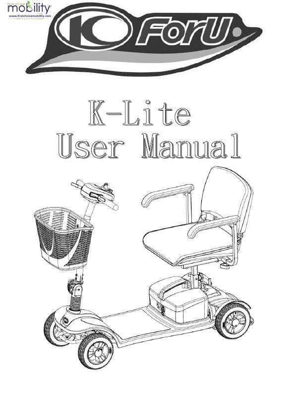 Kymco K Lite Manual