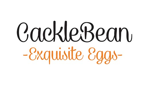 Cacklebean Eggs logo