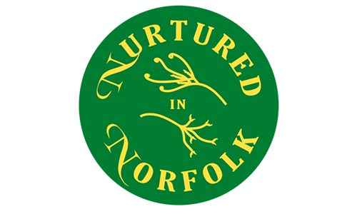 Nurtured in Norfolk logo