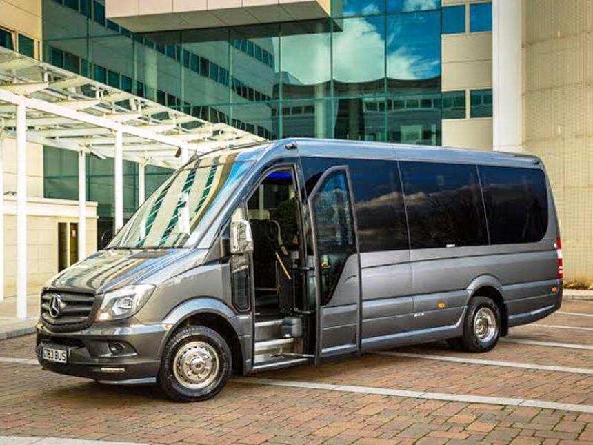 Mercedes Mini Bus | Mercedes Mini Bus for wedding hire in London