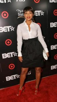 Lisa Raye Mccoy Hair Dress Title 2008 Bet Awards Dinner ...