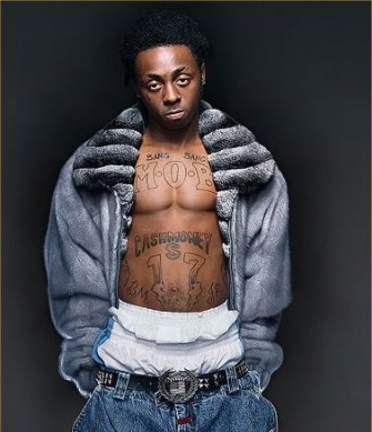 Lil Wayne's MOB and Cash Money Tattoo