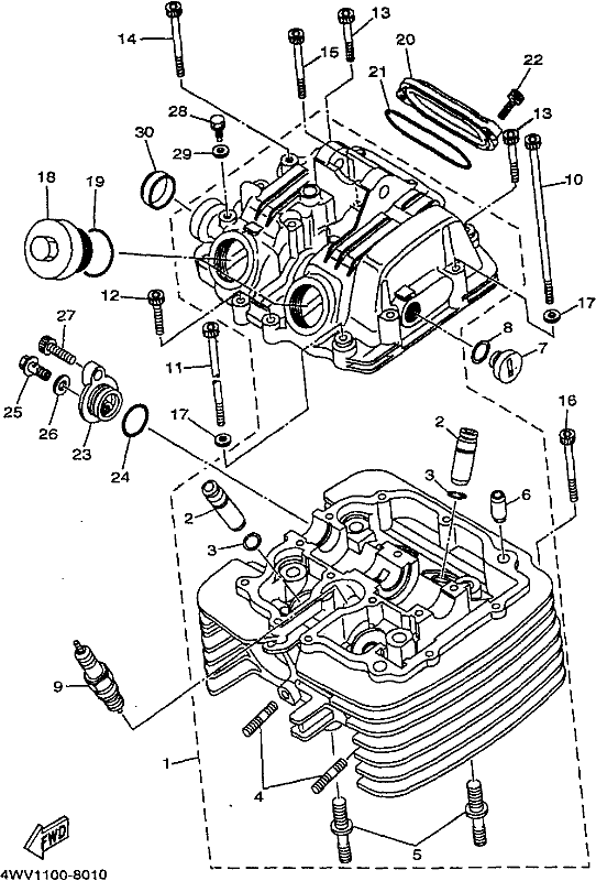 [DIAGRAM] Yamaha Grizzly 600 Engine Diagram FULL Version