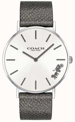 Coach Womens Delancey Stainless Steel Mesh Strap Silver