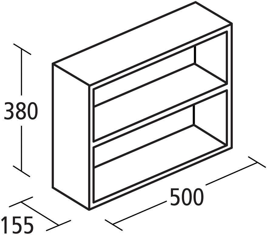Ideal Standard Concept Space Fill In Shelf Unit 500mm