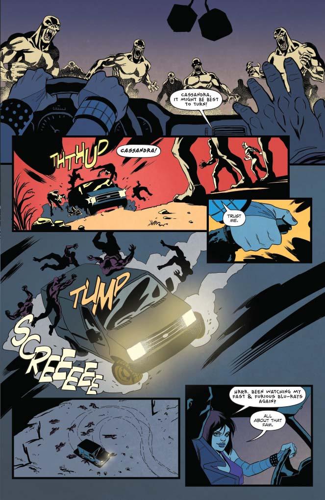 Hack Slash vs Vampirella 4 preview  First Comics News