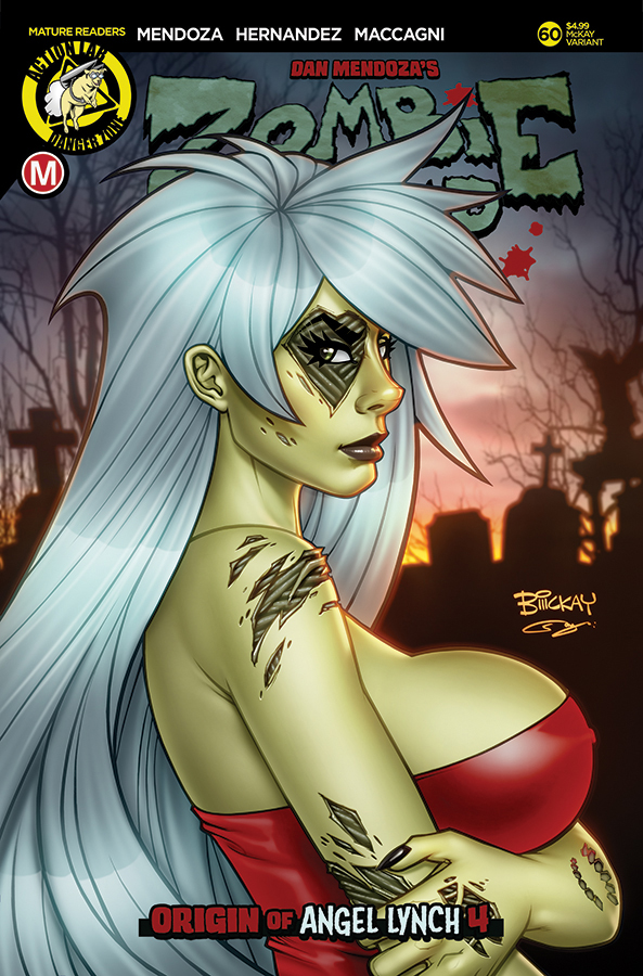 Zombie Tramp, Horror, NSFW, Sex, Violence, Zombies, Action Lab, Comics