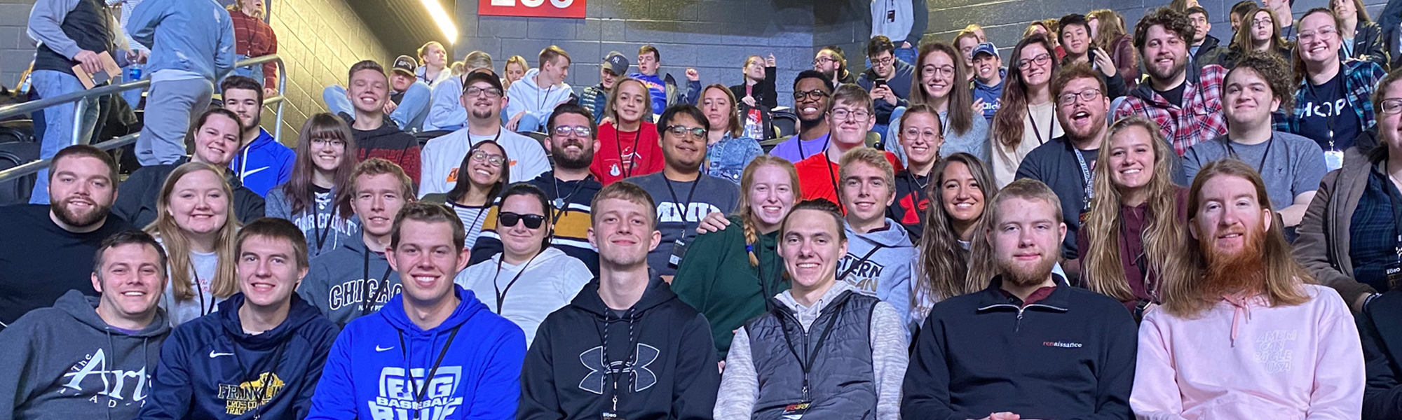 Young Adults at Passion 2020