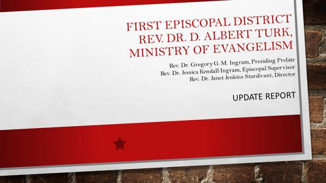 First Episcopal District Ministry of Evangelism