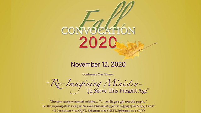 Frist Episcopal District Fall Convocation 2020