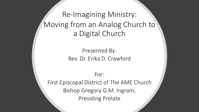 Moving from an Analog to a Digital Church
