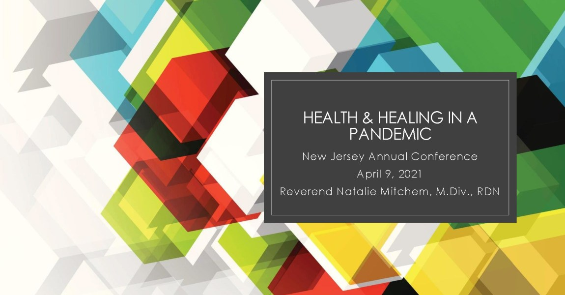 Health and Healing in a Pandemic