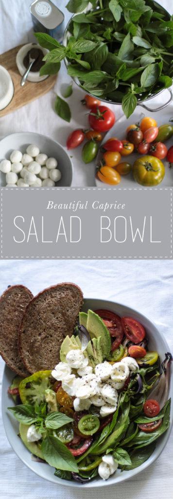 Caprice Salad bowl