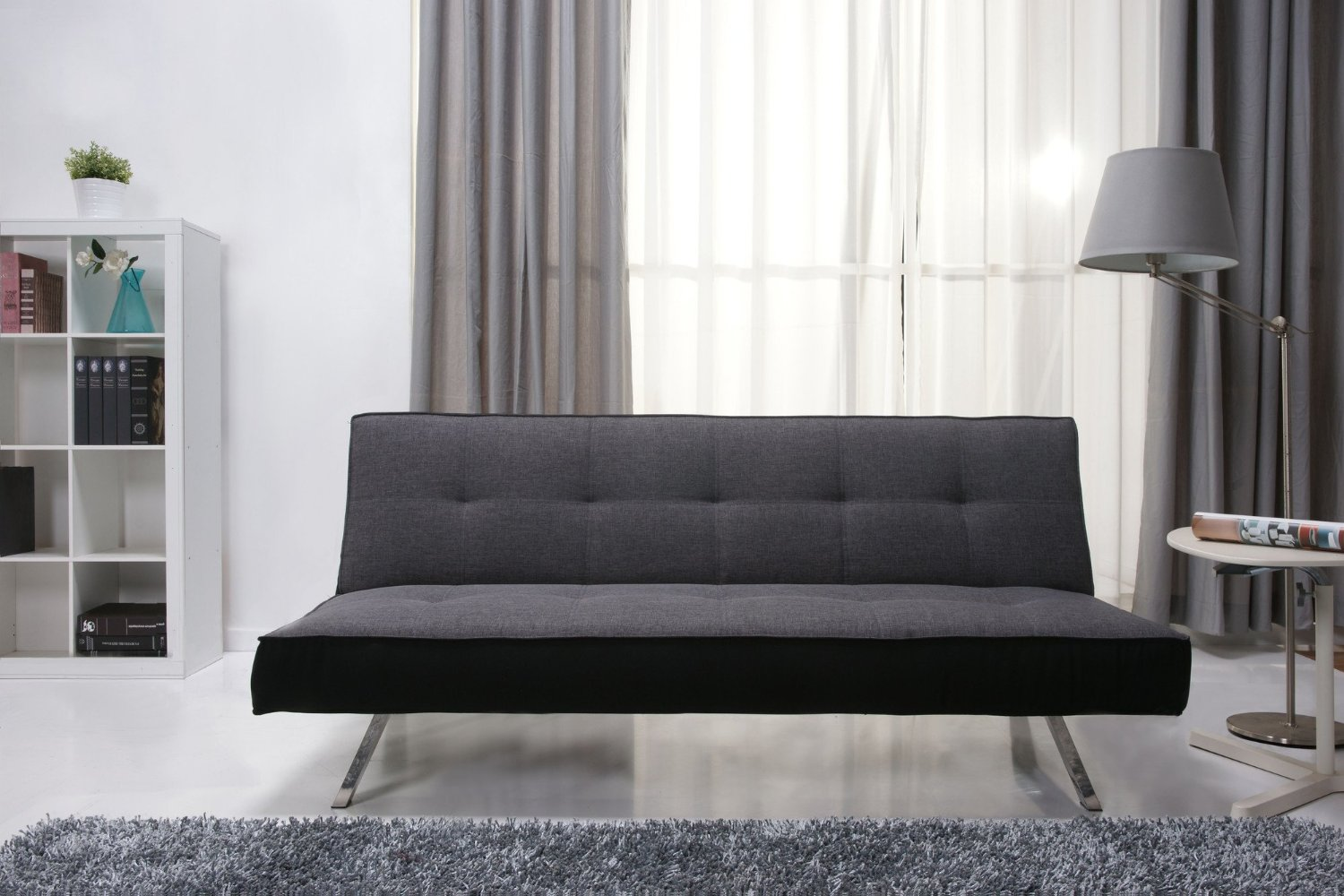 rialto faux leather futon sofa bed whole throw settee home page: furniture: settees