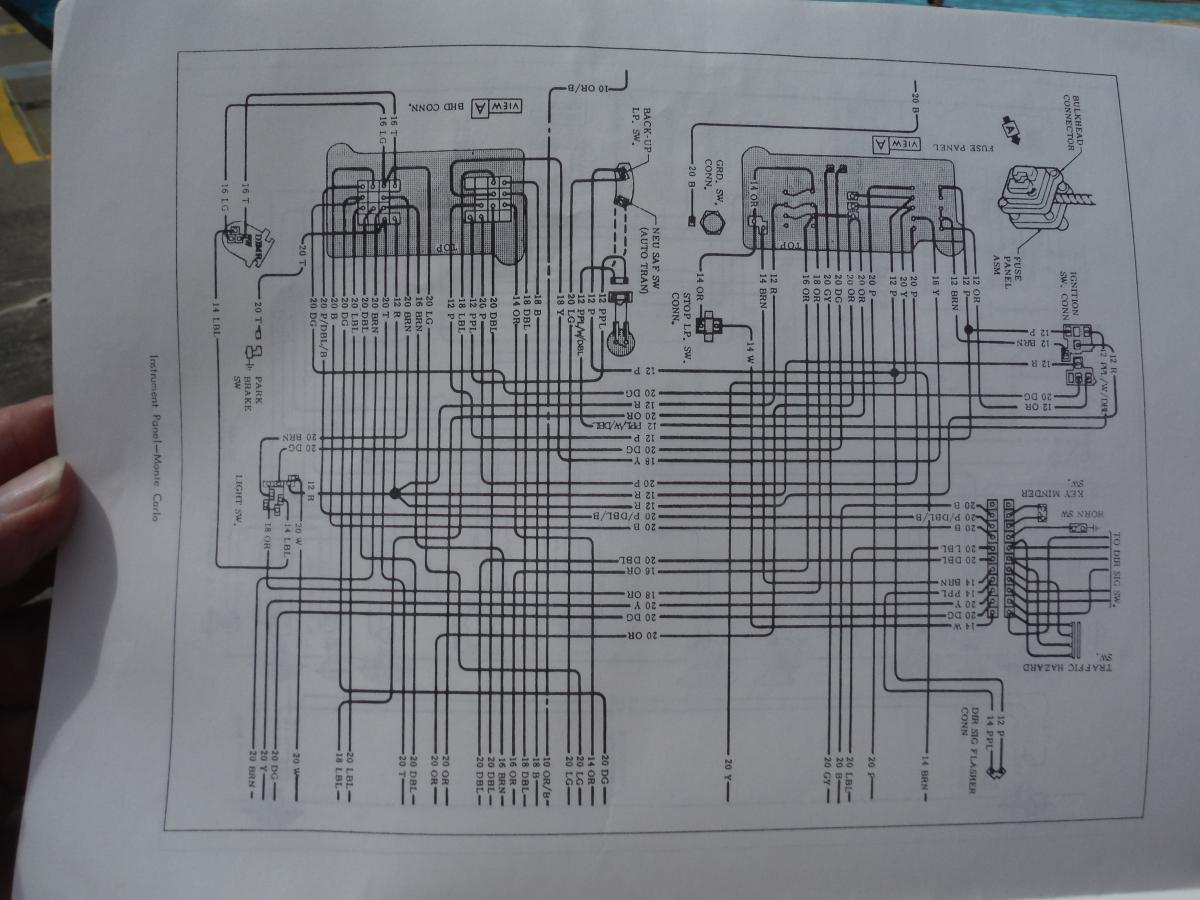 Chevy Wiring Diagram Wiring Harness Wiring Diagram Wiring