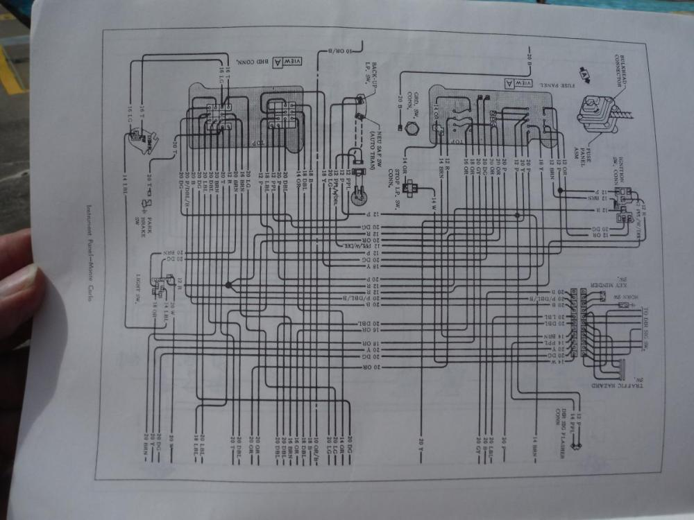 medium resolution of 1972 monte carlo wiring diagram
