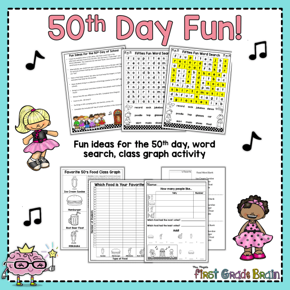 50th day of school activities