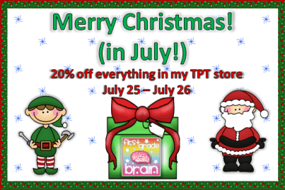 Christmas In July Party Clipart.Merry Christmas In July And The Christmas Craft Linky Party