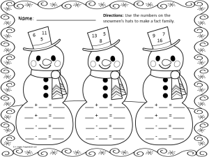 "Search Results for ""Free Winter Holiday Worksheets 2nd"
