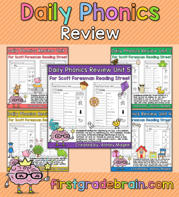 Daily Phonics Review
