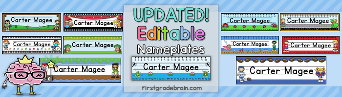 New and Improved Name Tags!