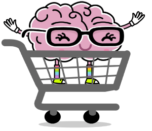 First Grade Brain Shopping Cart