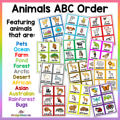 Animals ABC Order