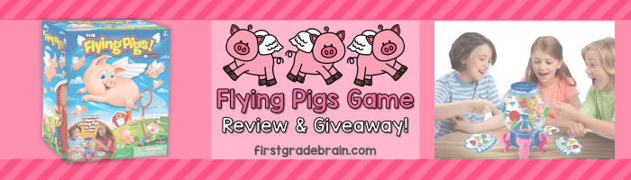 The Flying Pigs Game Review and Giveaway!