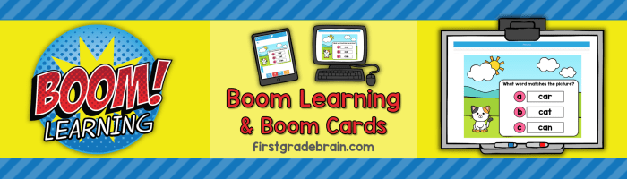 Boom Learning – Digital or Distance Learning Option