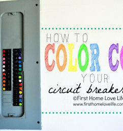 home fuse box colors wiring diagrams mon color coding your circuit breaker box first home love [ 2176 x 1445 Pixel ]
