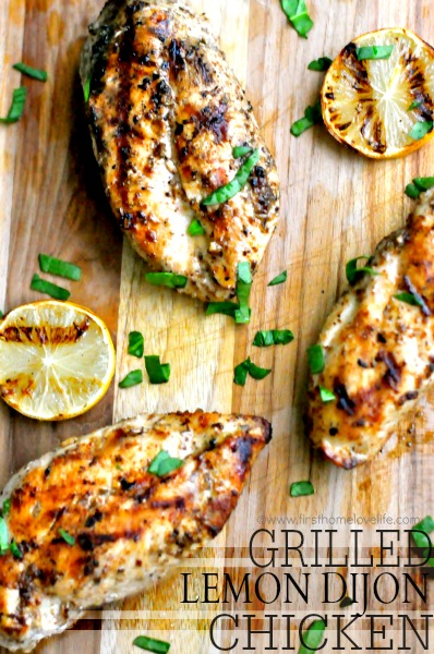 Grilled Lemon Dijon Chicken Recipe
