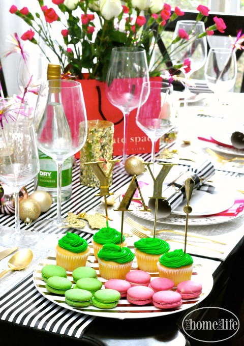 Kate Spade Inspired Holiday Party  First Home Love Life