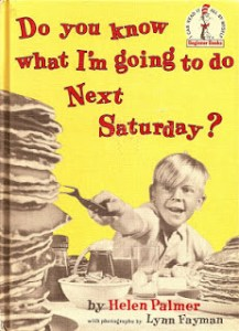 Book Review: Do you know what I'm going to do Next Saturday?