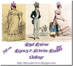 Regency & Victorian Reads Challenge