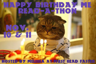 Happy Birthday Me Read-A-Thon Start Up & Up-dates