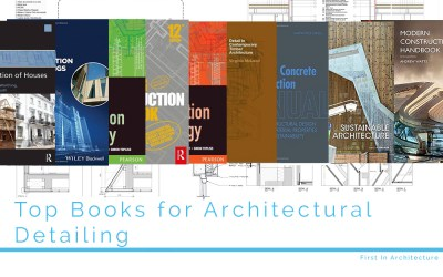 Top 8 Books for Architectural Detailing
