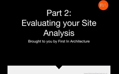 Site Analysis Part 2 – Video