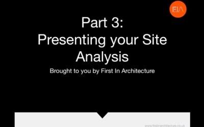 Site Analysis Part 3 – Video