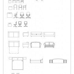 Office Chair Elevation Cad Block Troutman Company Blocks Furniture