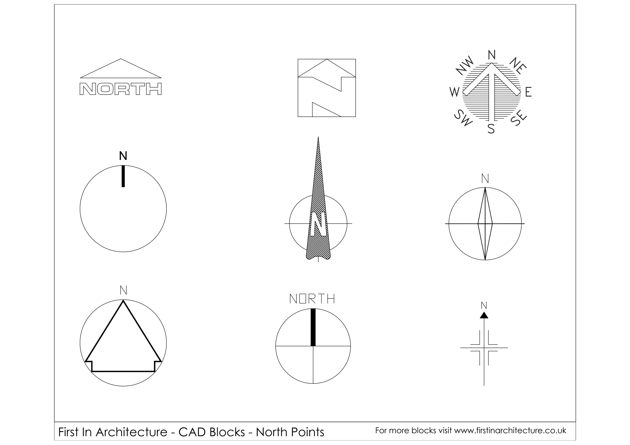 Download Autocad Arrow Blocks Free Download Free