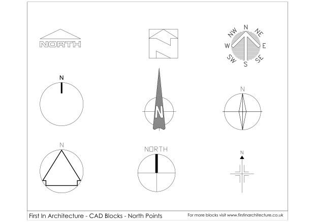 FIA North Point CAD Blocks 01