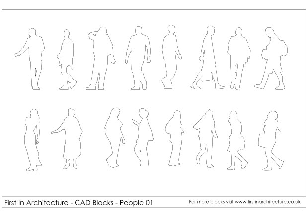 FIA People CAD Blocks 01