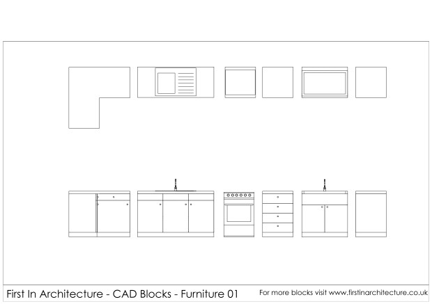 Free kitchen Cad Blocks
