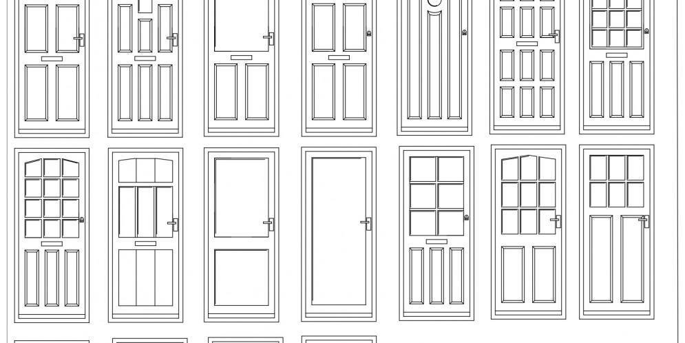 Sliding Door Repair New: Panel Door Elevation