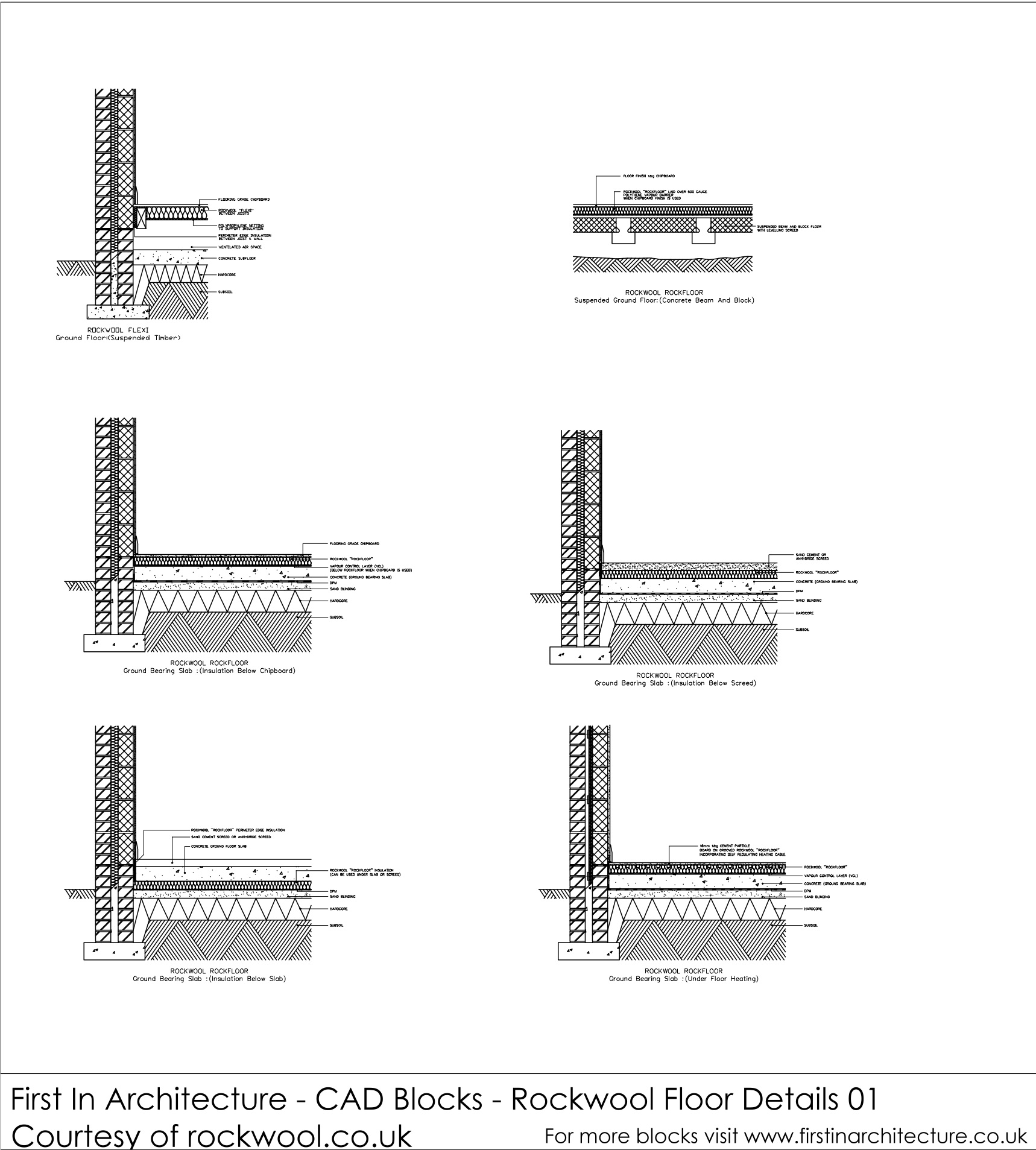 Free Cad Blocks Floor Details