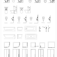 Baby Bath Chair India Norwalk Sofa And Austin Free Cad Blocks - Bathroom Details | First In Architecture